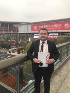 Návšteva veletrhu China International Import Expo 2018 II