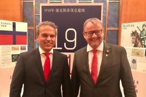Setkání s Ministrem dopravy, panem Danem Ťokem