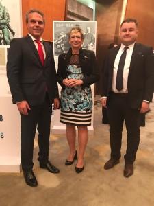 Setkání s Ministryní průmyslu a obchodu, paní Martou Novákovou
